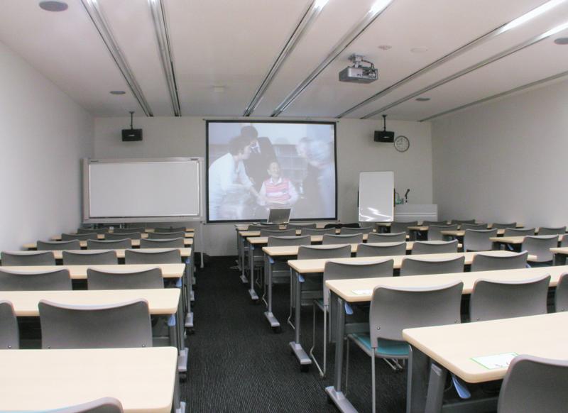 セミナー室 オフィスデザイン オフィス移転工事 東京都港区北青山の事例