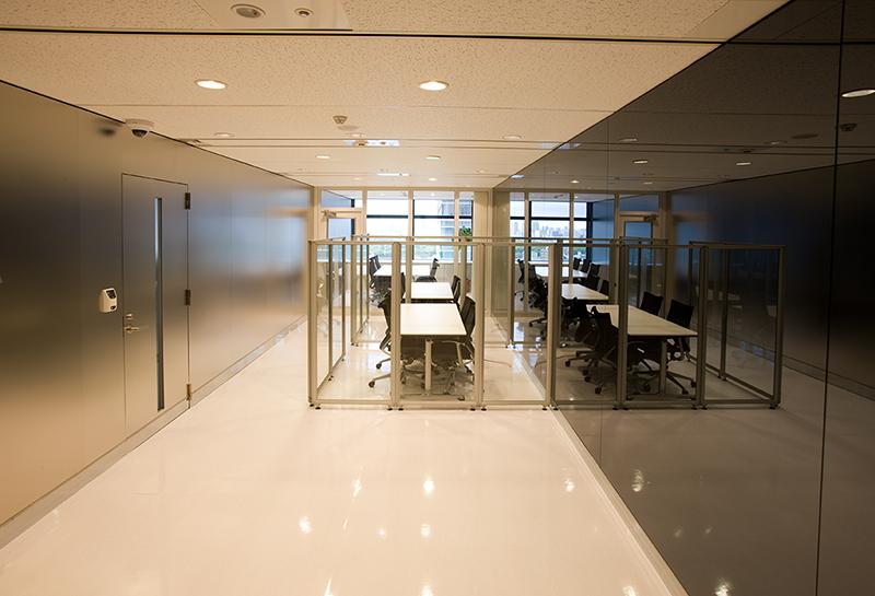 デザインオフィス事例 エントランスホール