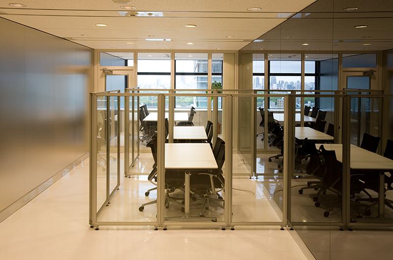 デザインオフィス事例 打合せスペース