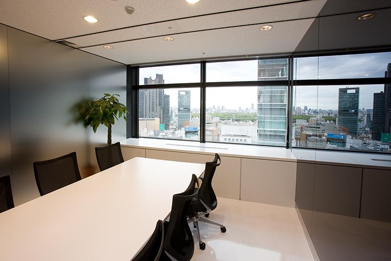デザインオフィス事例 応接室