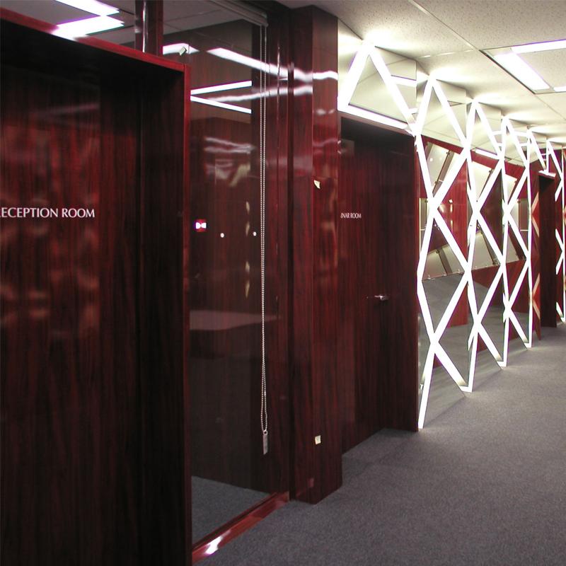 オフィスデザイン 引越移転内装工事 大阪府大阪市北区堂島での事例