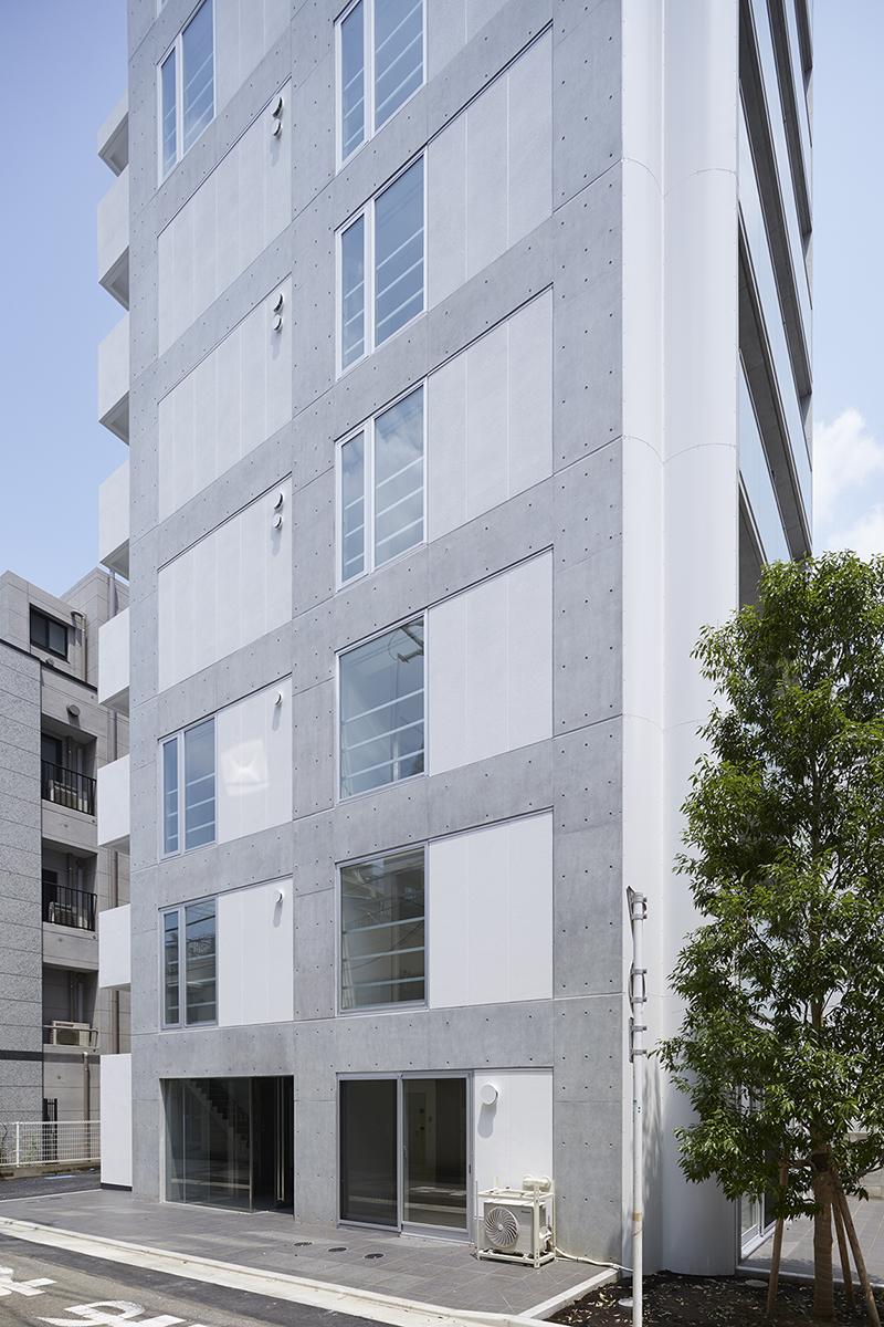 賃貸併用住宅 自宅兼賃貸マンション建替え事例レンタブル比も向上した建替え後の新建物