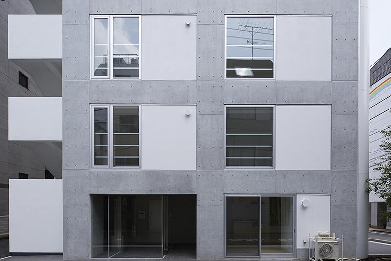 賃貸併用住宅 自宅兼賃貸マンション建替え事例構造と設備、意匠が統合したデザイン