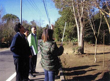 植栽工事 樹木見学会