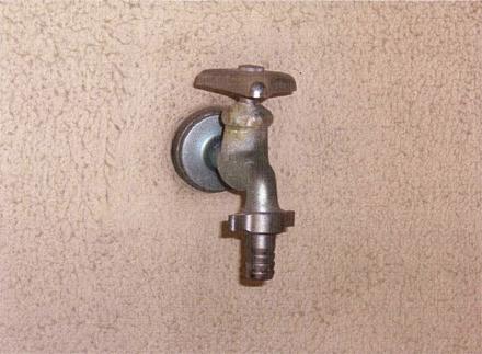 給水設備工事 旧洗濯水洗