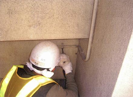 電気設備工事 既存不要線撤去 施工状況