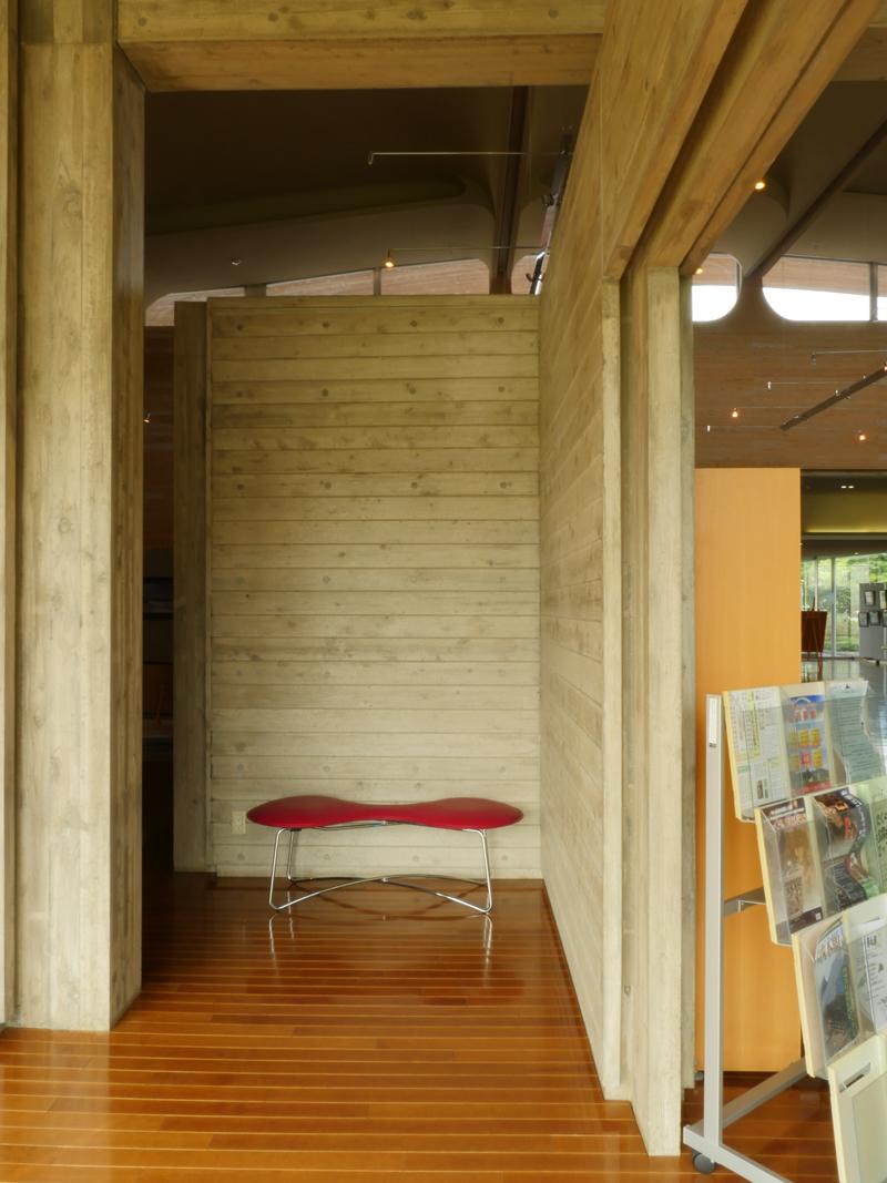 片岡直樹の建もの探訪|ゑしんの里記念館 アルコーブ