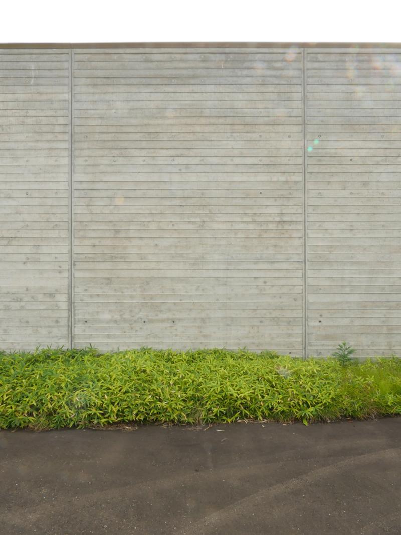 片岡直樹の建もの探訪|ゑしんの里記念館 美しいコンクリート打ち放し