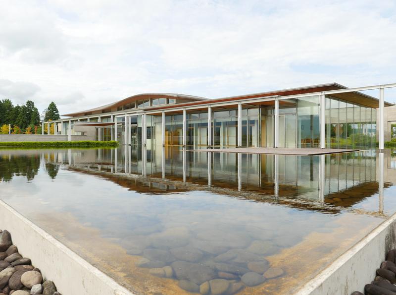 片岡直樹の建もの探訪|ゑしんの里記念館 屋根の表現