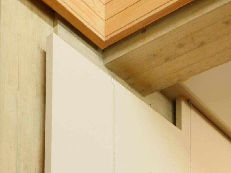 片岡直樹の建もの探訪|ゑしんの里記念館 目透かしディテール