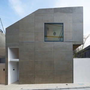 コンクリート打ちっぱなしの家 東京での事例