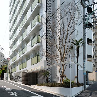 賃貸マンション外壁改修デザイン文京区駒込での事例
