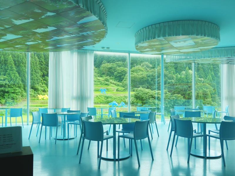 片岡直樹の建もの探訪|まつだい「農舞台」カフェ