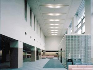伊藤喜三郎建築研究所勤務時代に担当した石巻市立病院エントランスホール