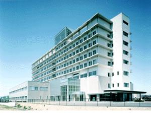 伊藤喜三郎建築研究所勤務時代に担当した盛岡市立病院外観
