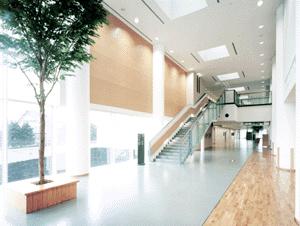 伊藤喜三郎建築研究所勤務時代に担当した盛岡市立病院エントランスホール