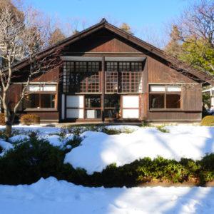前川国男邸|南庭川外観|江戸東京建物園
