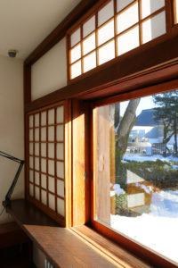 前川国男邸|寝室窓台|江戸東京建物園