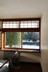 前川国男邸|寝室窓|江戸東京建物園