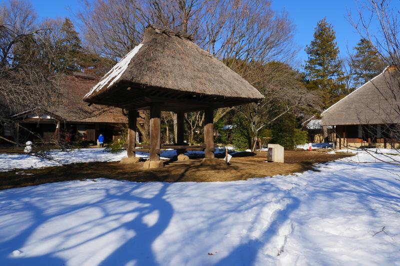 奄美の高倉(あまみのたかくら)|江戸東京たてもの園 江戸時代末期頃 奄美大島にあった高床式の倉庫です。湿気や鼠の害から穀物を守るために、建物本体を地面から高く上げています。 このような高床式の建物は、東京都の八丈島などにも見られます。