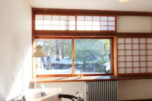 前川国男邸 寝室窓台 江戸東京たてもの園