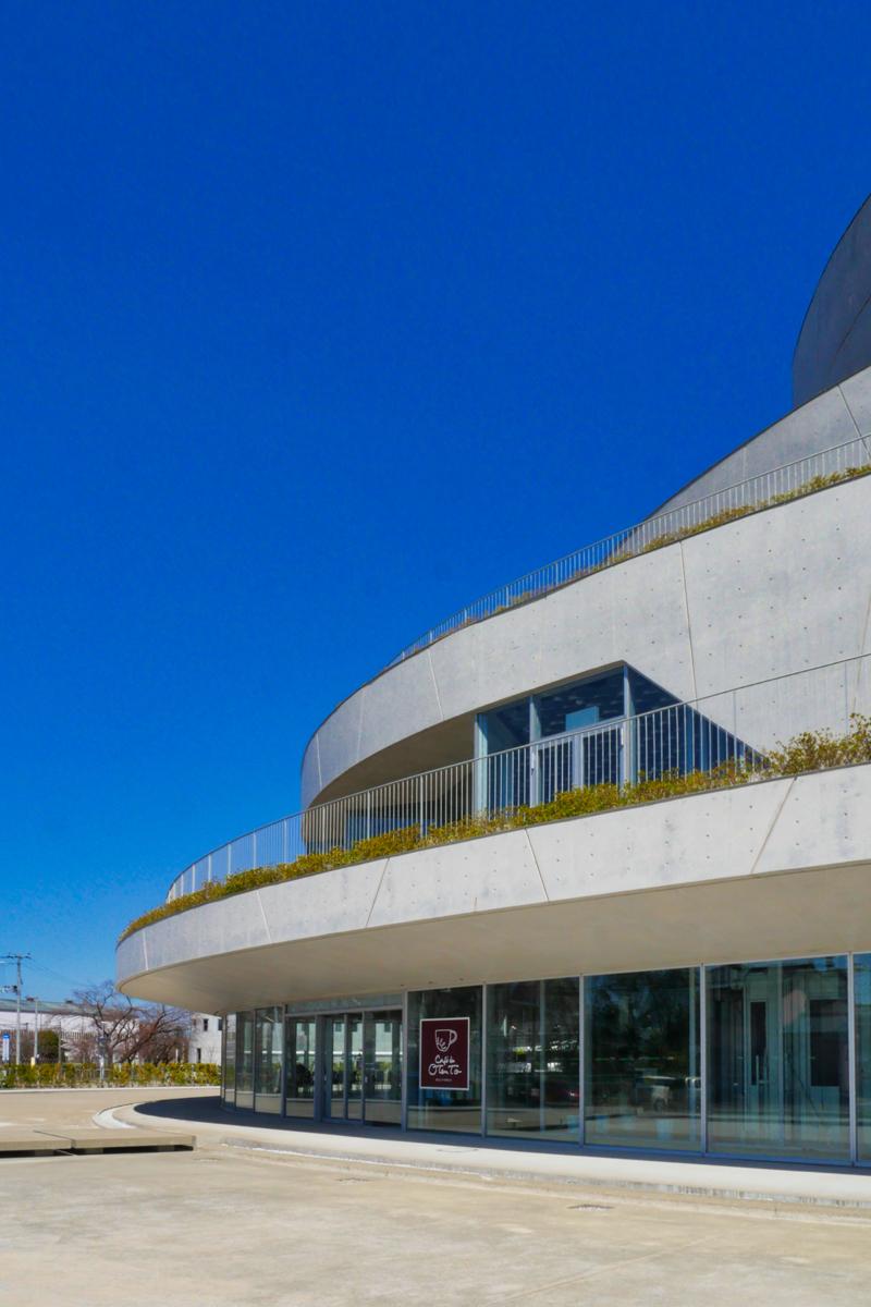 片岡直樹の建もの探訪|秋葉区文化会館外観2