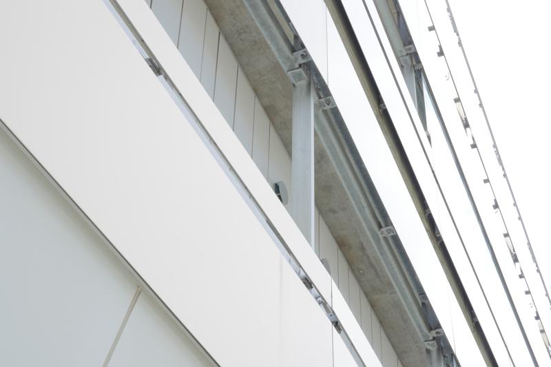 片岡直樹の建もの探訪|横須賀市健康安全科学センター外壁ディテール