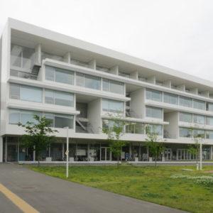 片岡直樹の建もの探訪|横浜市立大学YCUスクエア外観