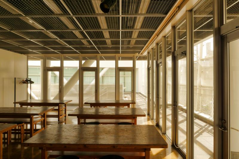 片岡直樹の建もの探訪|ユートリア(すみだ生涯学習センター)2階 A棟 創作活動室