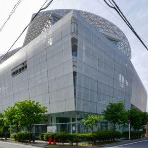 片岡直樹の建もの探訪|ユートリア(すみだ生涯学習センター)