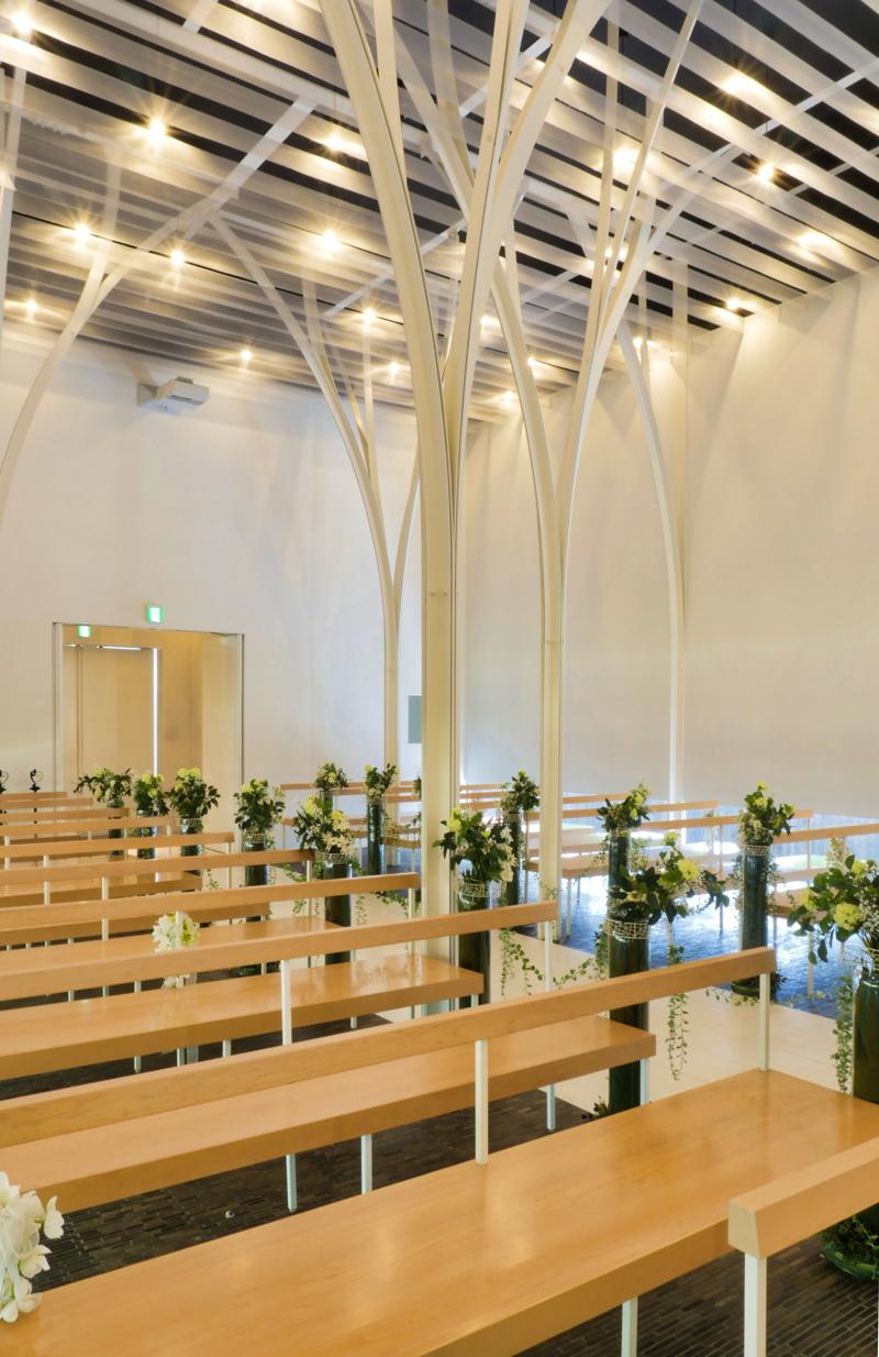 森の教会アルカーサル迎賓館 高崎|住宅/ビル/マンション設計者の建もの探訪内観3