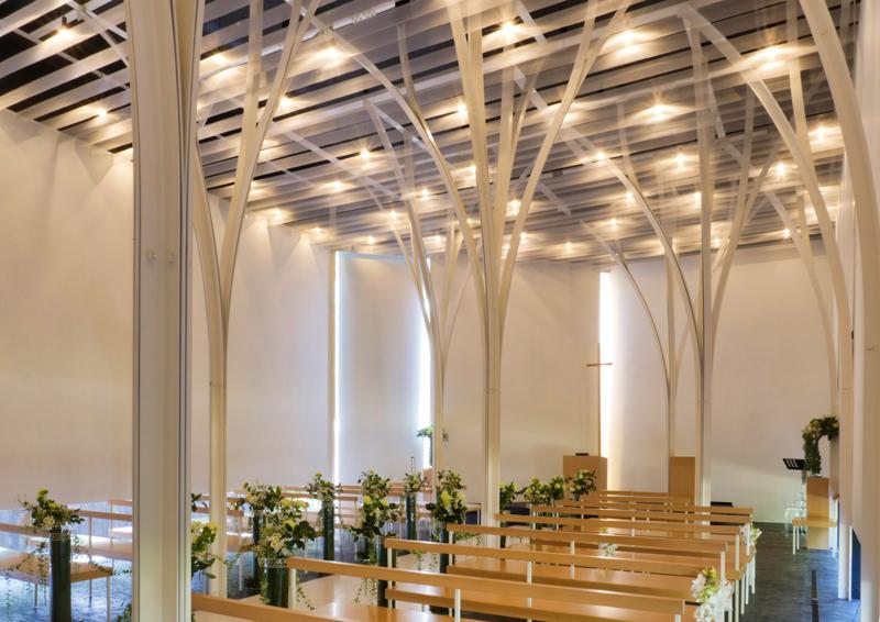森の教会アルカーサル迎賓館 高崎|住宅/ビル/マンション設計者の建もの探訪 内観2