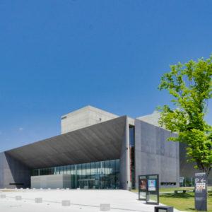 外観|太田市民会館|住宅/ビル/マンション設計者の建もの探訪
