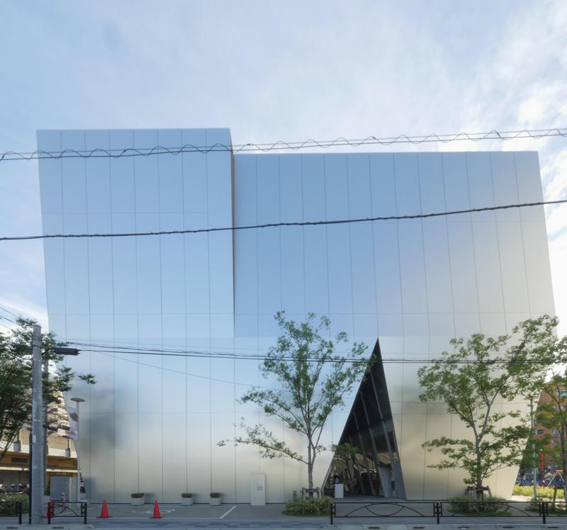 すみだ北斎美術館|住宅/ビル/マンション設計者の建もの探訪