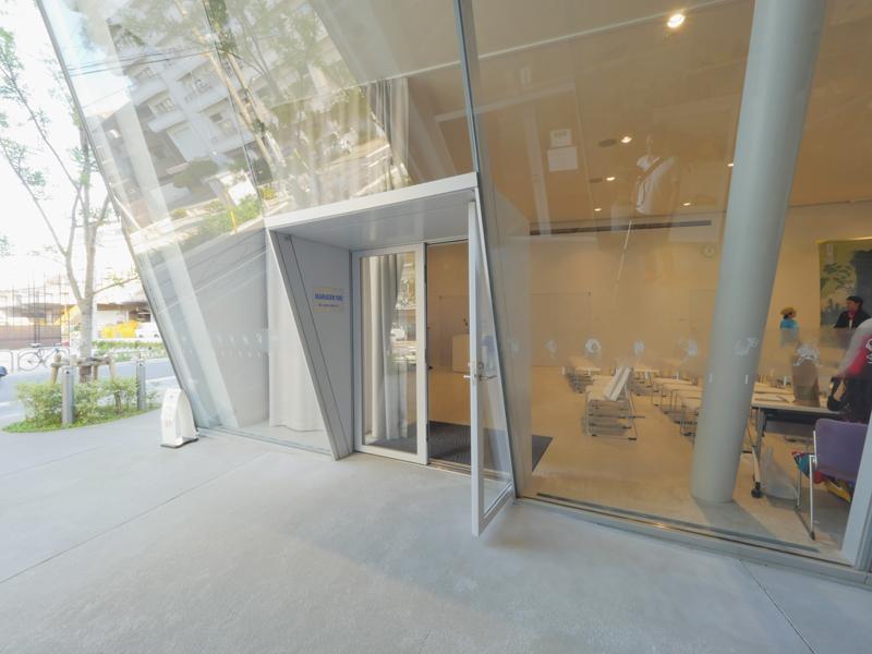 講座室|すみだ北斎美術館|住宅/ビル/マンション設計者の建もの探訪