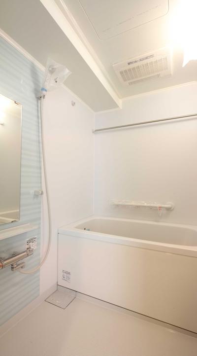 工事中に設計者が撮影した入居募集写真浴室|一日でも早く満室にするための新築賃貸マンション入居者募集方法