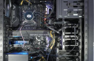 2018PC自作|Intel Core i7 8700K|GEFORCE GTX1070tiでレンダリングマシンを組みましたレンダリングPCの自作を検討している方の参考になれば幸いです。今回のPCは3DCGのレンダリングソフトを乗り換え、別のレンダリングソフト習得をテストするために組んでいます。これから乗り換えようとしているレンダリングソフトの要求性に沿ったPCを組むのが目標です。