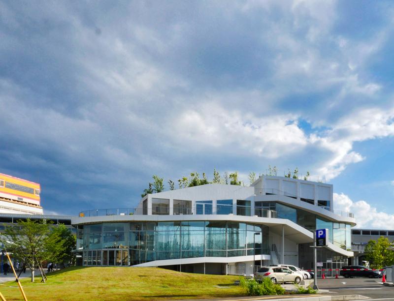 北側外観|太田市美術館・図書館|住宅/ビル/マンション設計者の建もの探訪