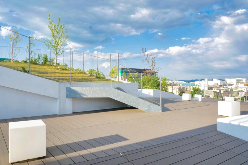 3Fテラス|太田市美術館・図書館|住宅/ビル/マンション設計者の建もの探訪