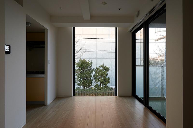 2階室内からの眺め