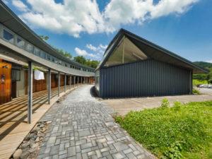 展示室外観 フォレスト益子|住宅/ビル/マンション設計者の建もの探訪