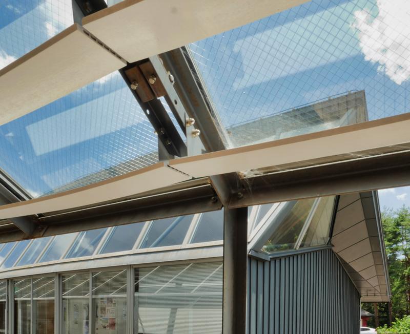 ルーバーディテール 客室の回廊 フォレスト益子|住宅/ビル/マンション設計者の建もの探訪