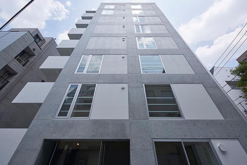 外壁がタイル仕上げのマンションとの違い 賃貸併用住宅 自宅兼賃貸マンション建替え事例 デザイナーズマンション