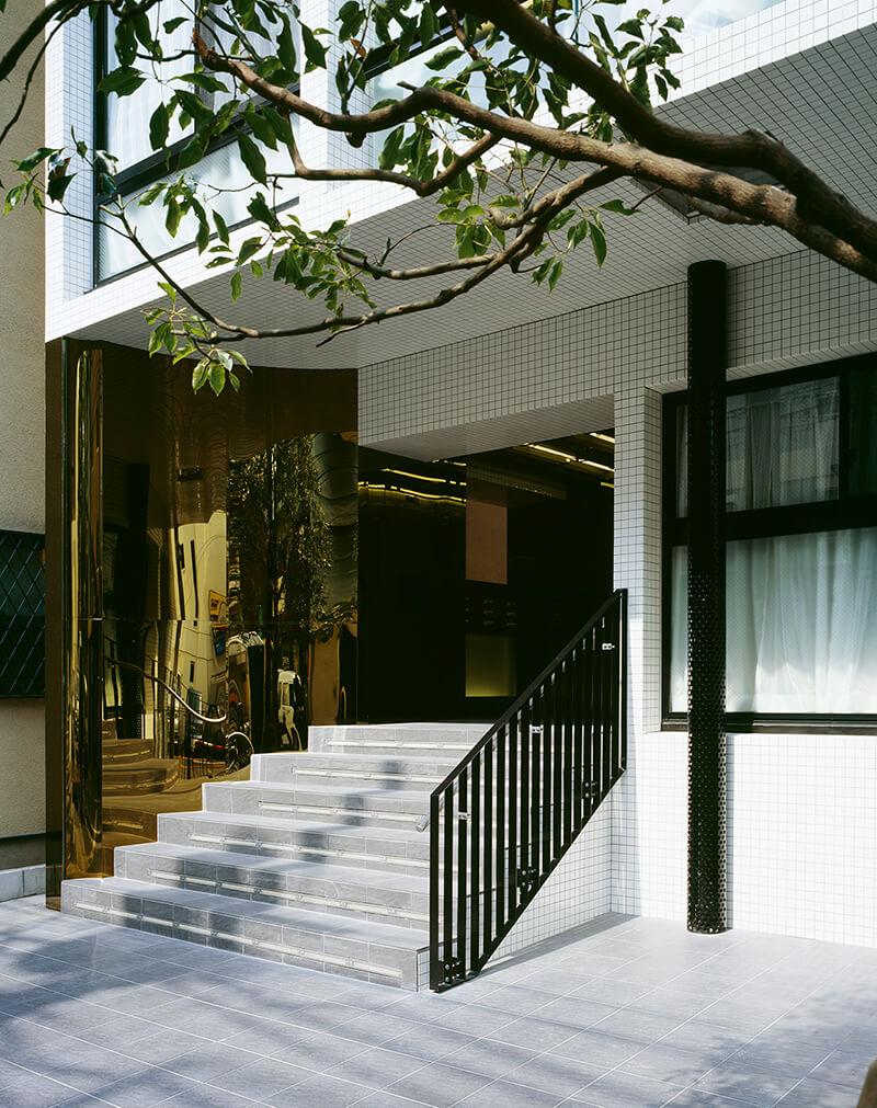 エントランス デザイナーズマンション