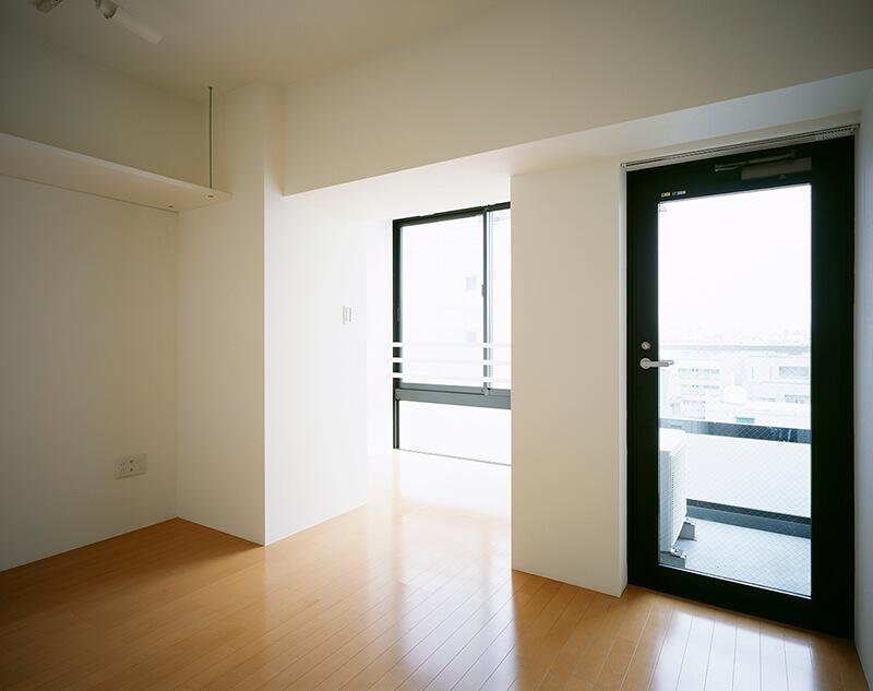 2室に分離した部屋 デザイナーズマンション
