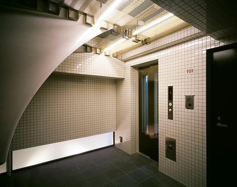 エレベーターホール デザイナーズマンション