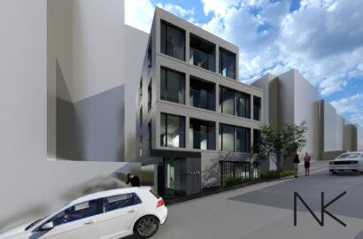 デザイナーズ賃貸マンションの設計が始まりました。